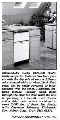 "Magazines, Hearst. ""New For Home Improvement."" Popular Mechanics, April 1983."