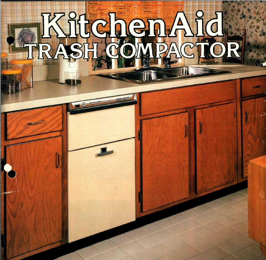 KitchenAid Trash Compactor. (A 681). Hobart Corporation,
