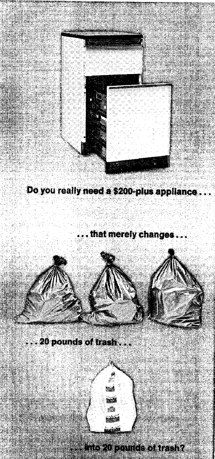 What Does A Trash Compactor Do unpacking trash compactors – disposable america