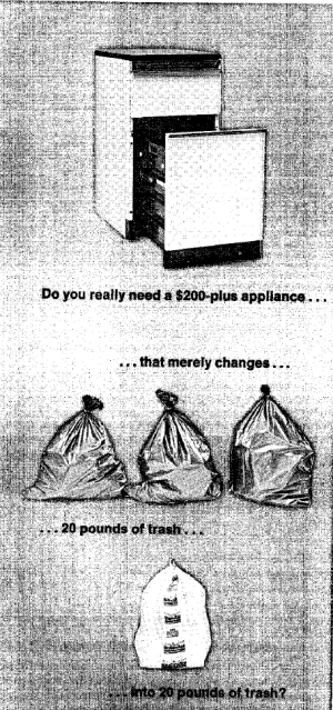 """Trash Compactors."" Consumer Reports, June 1, 1973."