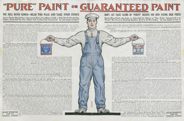 "Courtesy, The Winterthur Library, TP937 S43 TC (Sears, Roebuck and Company, ""Seroco Paints,"" ca. 1908)"