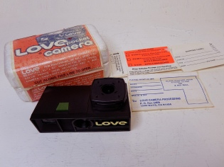 Love camera, Lure Camera, Ltd., circa. 1975. Courtesy of Mark Dalzell.