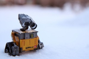 Credit: http://thefocusedfilmographer.files.wordpress.com/2013/06/wall-e.jpg. Wall-E faced the same plight of irrelevance and near-obsolesence as his domestic compactor counterparts.