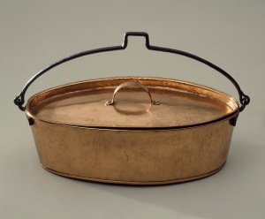 Fish kettle.  Winterthur Museum, 1990.51