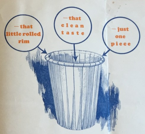 Cover from Tulip Company brochure, 1927. (Hugh Moore Dixie Cup Company Collection, Special Collections and College Archives, Skillman Library, Lafayette College.)