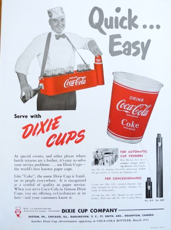 Lafayette College Hugh Moore Dixie Cup Collection 10-16 146 Figure 3