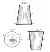 Drinking Cup Patent, 1929. (Hugh Moore Dixie Cup Company Collection, Special Collections and College Archives, Skillman Library, Lafayette College.)