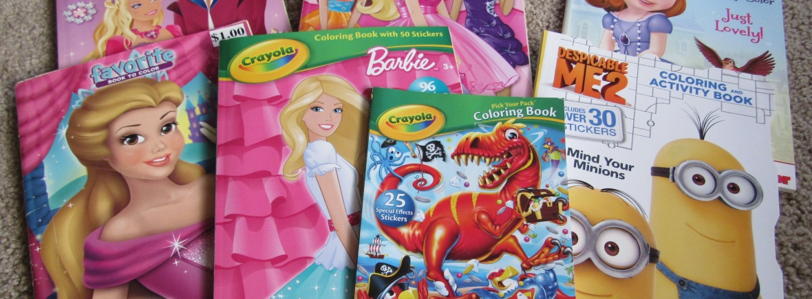Inside Or Outside The Lines A History Of Early Coloring Books