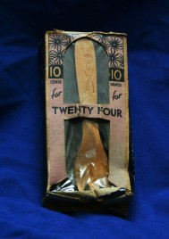 Wooen fork, Bellwood, year unknown. Unknown wood. Collection, Ashley Giordano.
