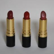 Lipstick, Revlon, 2015. Polypropylene tubes and unknown wax and dye. Collection, Rachel Eskridge.