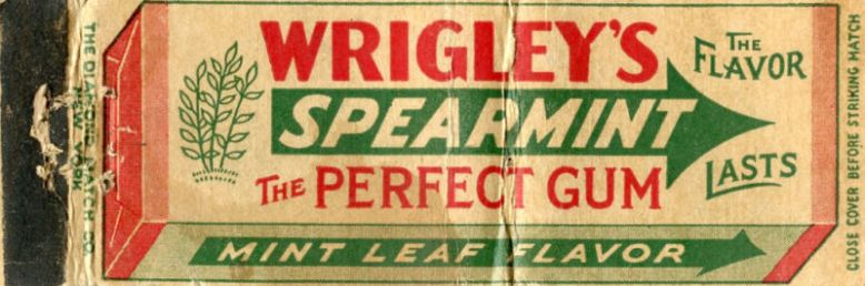 wrigley-gum-matchbook