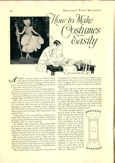 dennison's party magazine 1927, no 1, 22-23