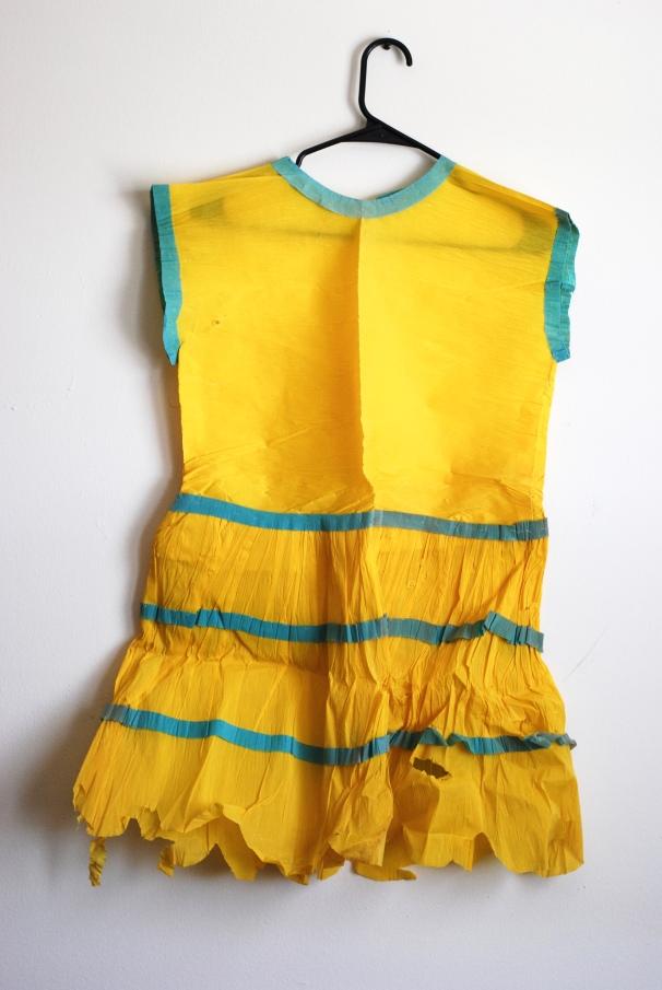 Crepe Paper Dress, Full View